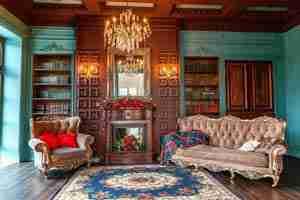 Luxury antique furniture