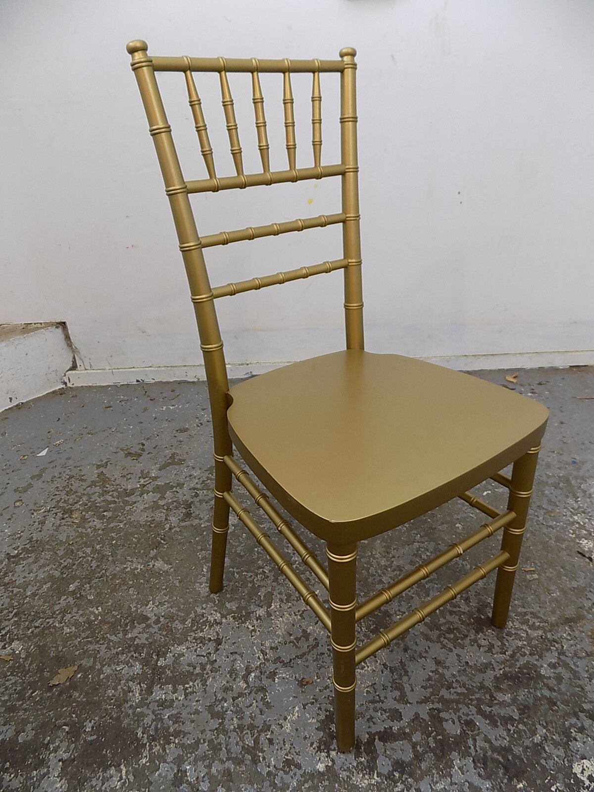 Eight Gold Bamboo Effect Chairs Dining Chairs Eight Chairs